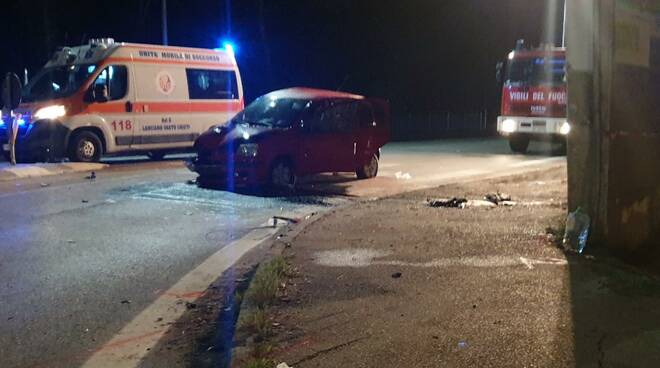 Incidente ss 16 17enne ternoli