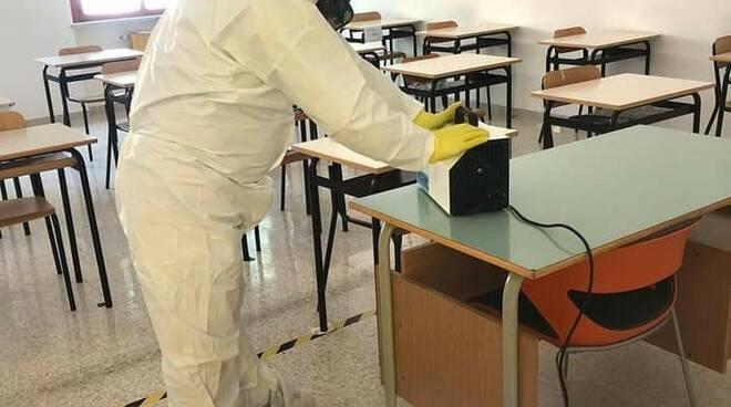 Sanificazione scuole covid