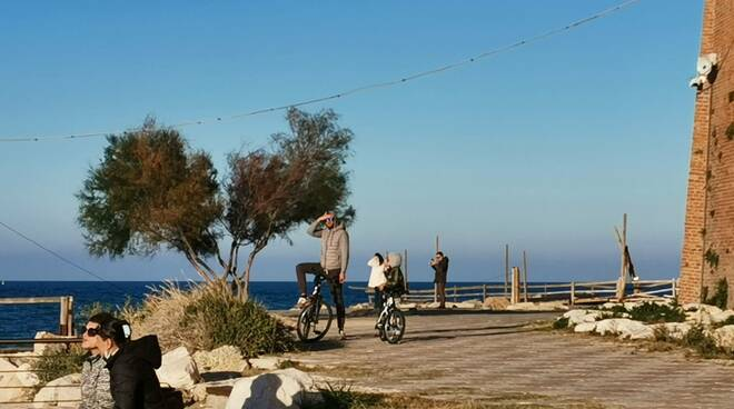 Bicicletta  passeggiata dei Trabucchi
