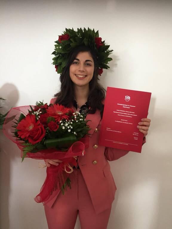 Confetti rossi per Rita Buccino