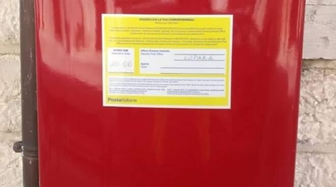 cassetta rossa posta
