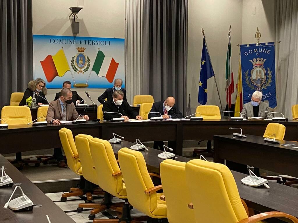 consiglio comune Termoli novembre 2020
