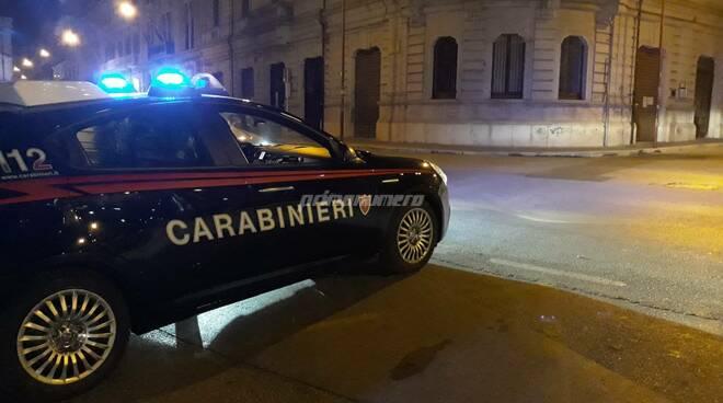 Carabinieri  Campobasso coprifuoco