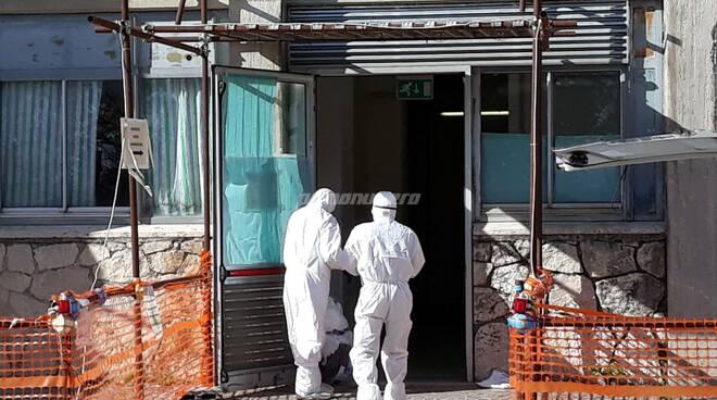 Covid medici ingresso Rianimazione ospedale Cardarelli Campobasso