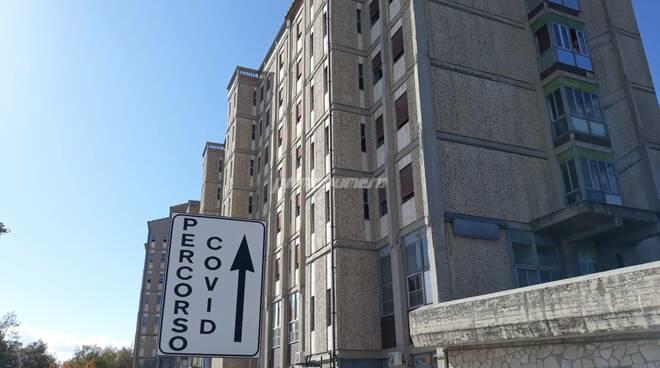 Percorso covid ospedale Cardarelli Campobasso