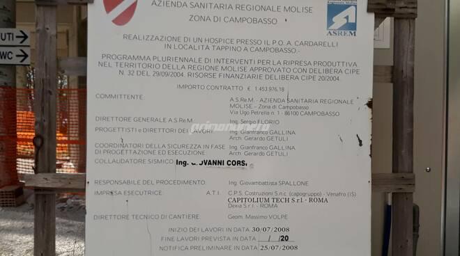 Ex hospice ospedale Cardarelli Campobasso