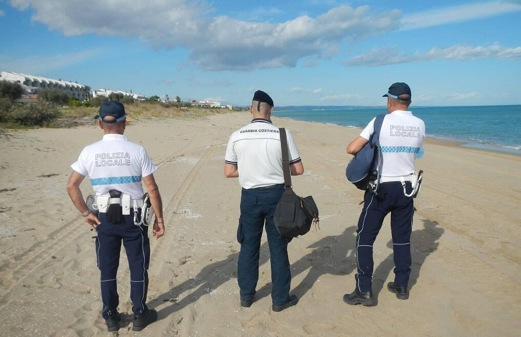 polizia locale guardia costiera