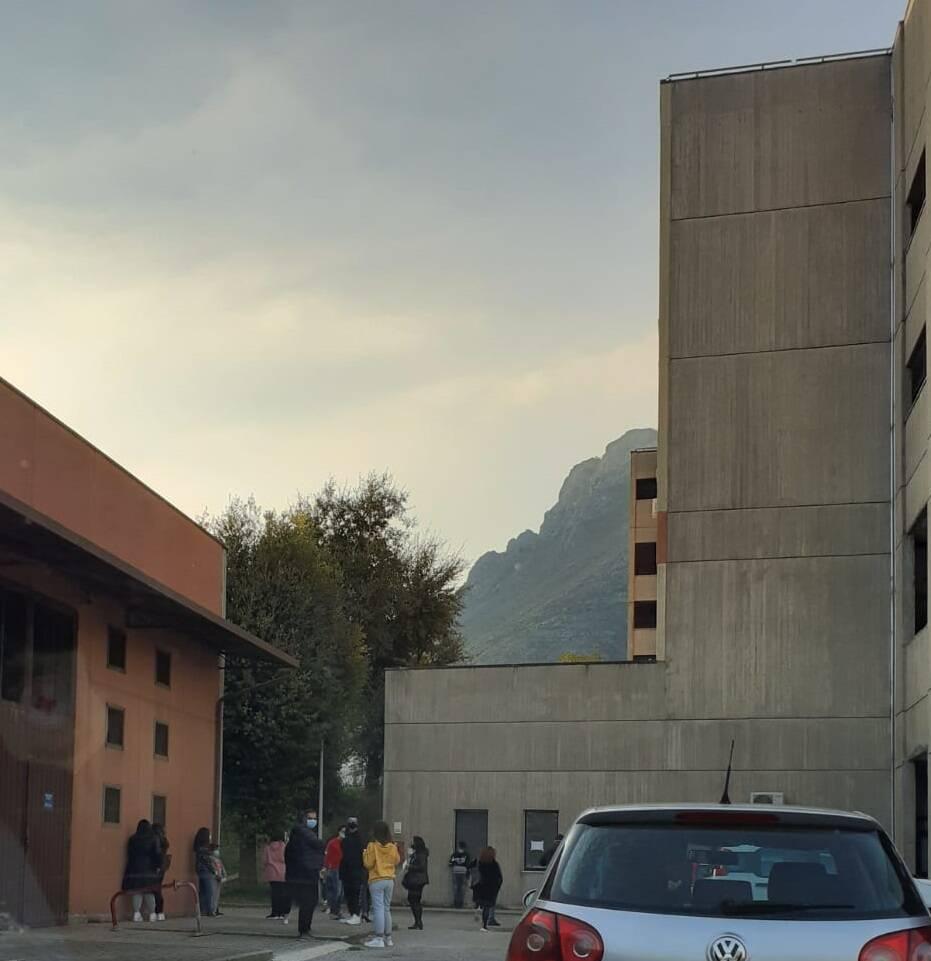 Tamponi a Venafro Santissimo Rosario covid infermieri medici
