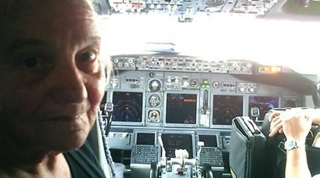 nicolina di clemente aereo a 90 anni