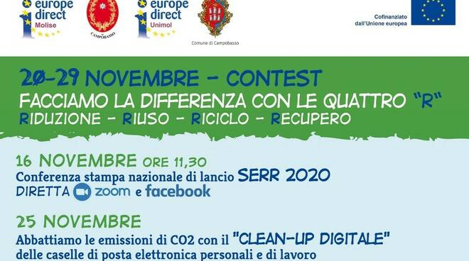 settimana europea riduzione rifiuti