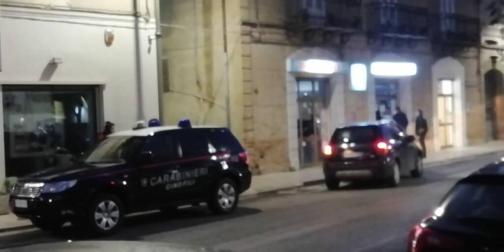 Guglionesi auto carabinieri