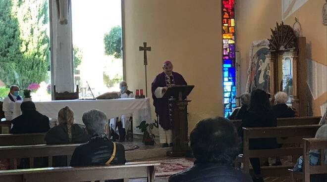 Messa cappella defunti cimitero Termoli 2020