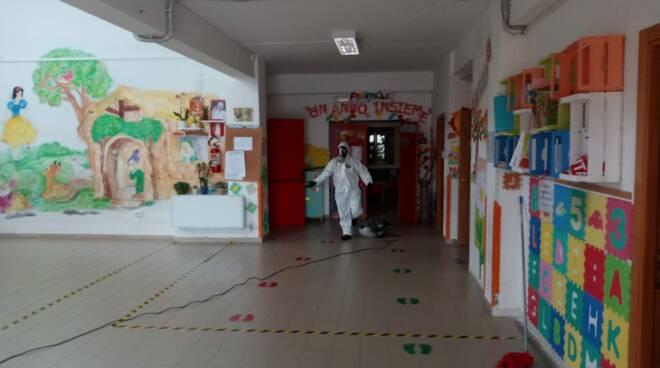 sanificazione scuole termoli novembre