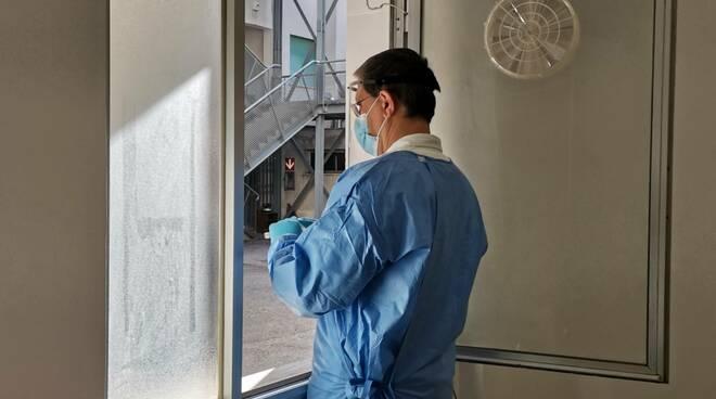 Tamponi termoli covid vecchio ospedale