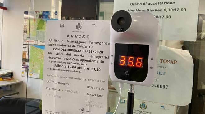 termoscanner comune termoli