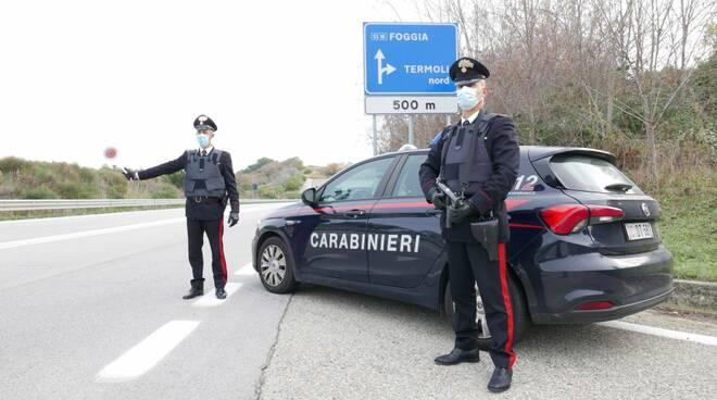 carabinieri termoli segnaletica