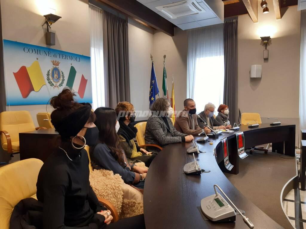 Conferenza commercianti Termoli