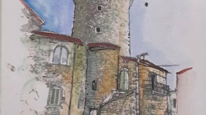 disegno torre colletorto
