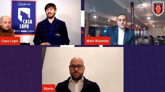Matt Rizzetta Mario Gesuè Campobasso calcio serie D