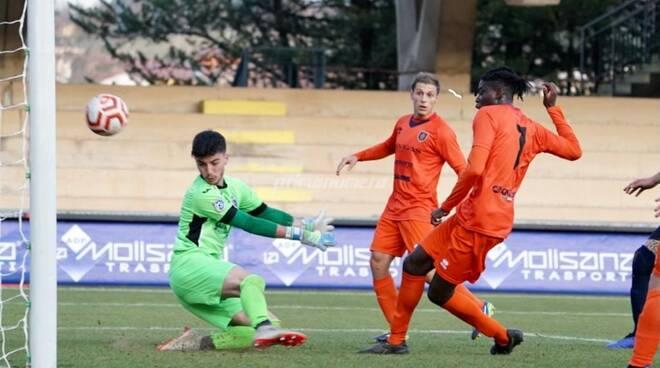 Campobasso calcio Gol Tenkorang