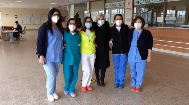 Infermiere ospedale Cardarelli vaccino covid