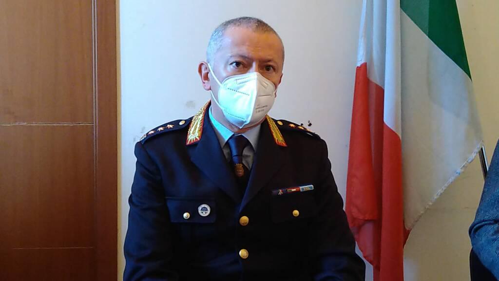 Campobasso Luigi Greco capo Polizia Municipale vigili
