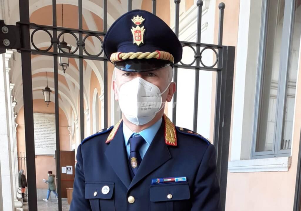 Vigili urbani Campobasso Greco comandante