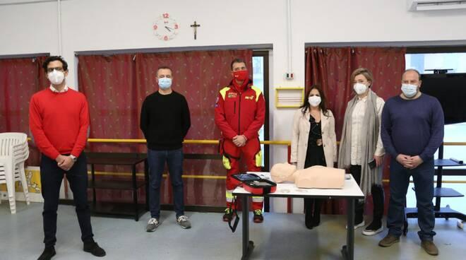 m5s defibrillatore sae 112