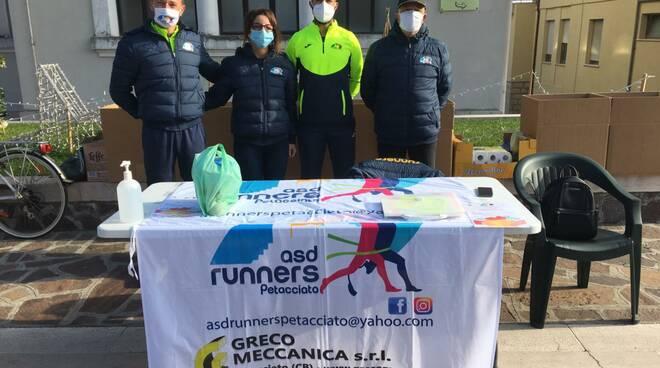 Raccolta alimentare Runners Petacciato