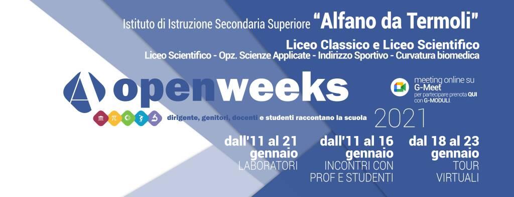alfano open weeks