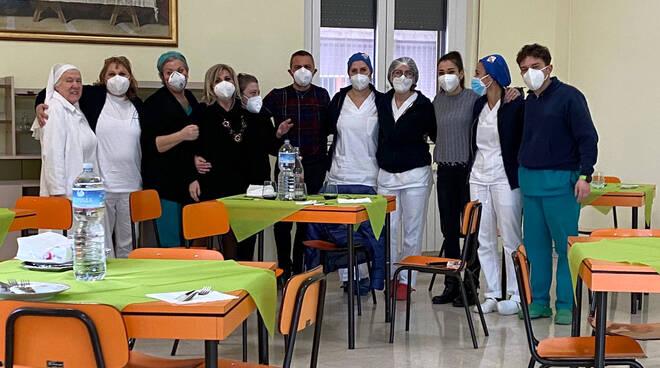 vaccino rsa villa santa maria montenero