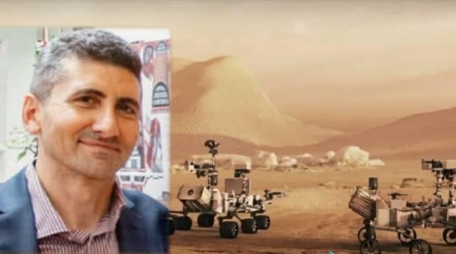 città su Marte Giuseppe Calabrese
