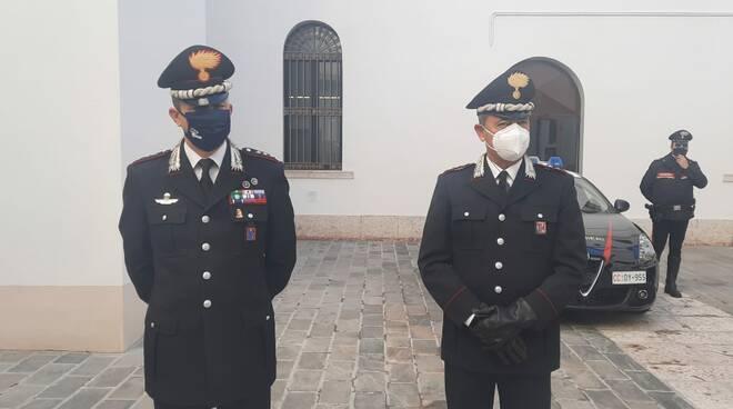 carabinieri campobasso Gaeta