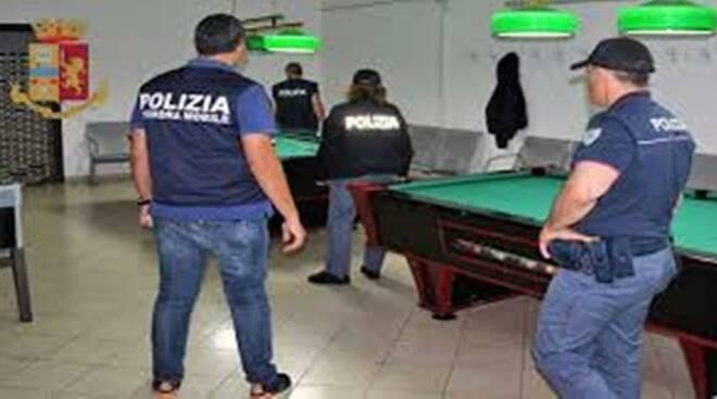 Polizia Campobasso circolo covid