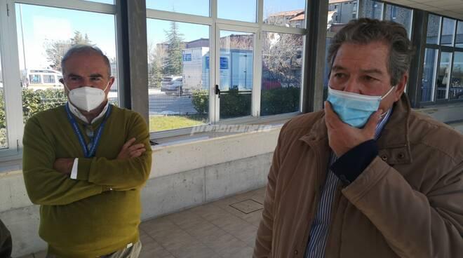 Giustini e Cecere ospedale Cardarelli Campobasso