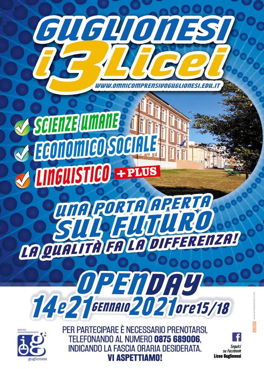 open day licei guglionesi
