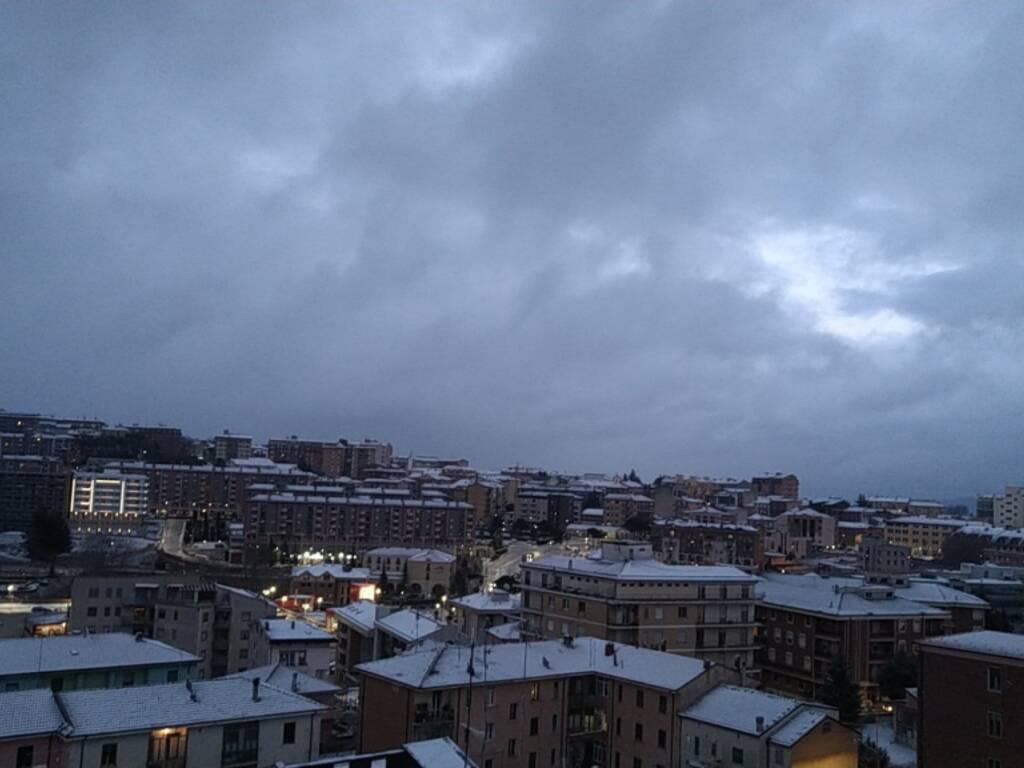 Campobasso neve 16 gennaio