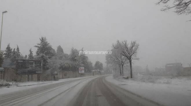 neve Campobasso 17 gennaio 2021