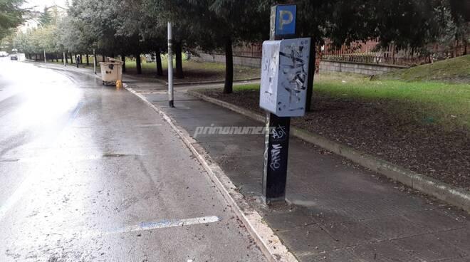 Parcheggi blu sosta a pagamento Campobasso