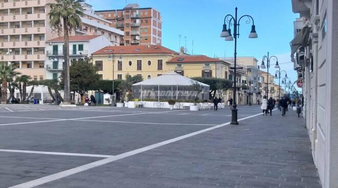 Piazza monumento corso termoli