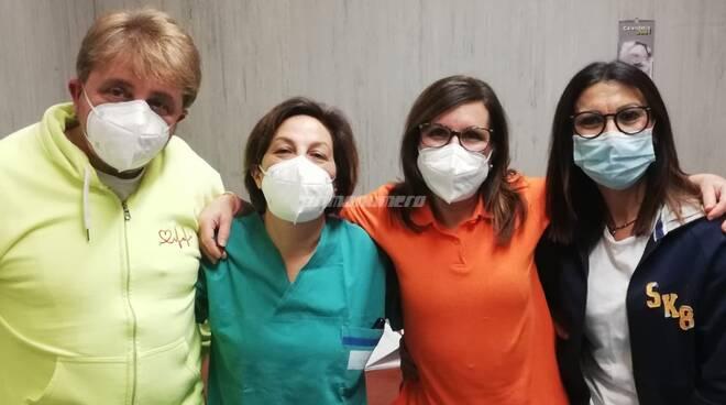 vaccini operatori sanitari ospedale Cardarelli Campobasso Rianimazione Terapia Intensiva
