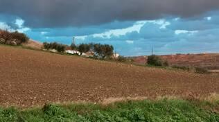 nuvole campagna Basso Molise agricoltura campi