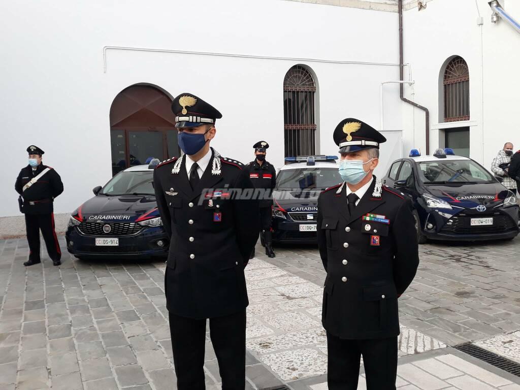 Carabinieri Campobasso capitano Ventrone