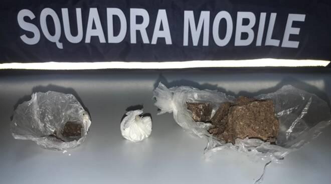 squadra mobile droga