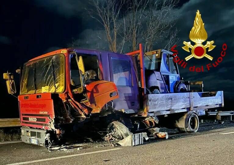 incidente bojano vigili del fuoco