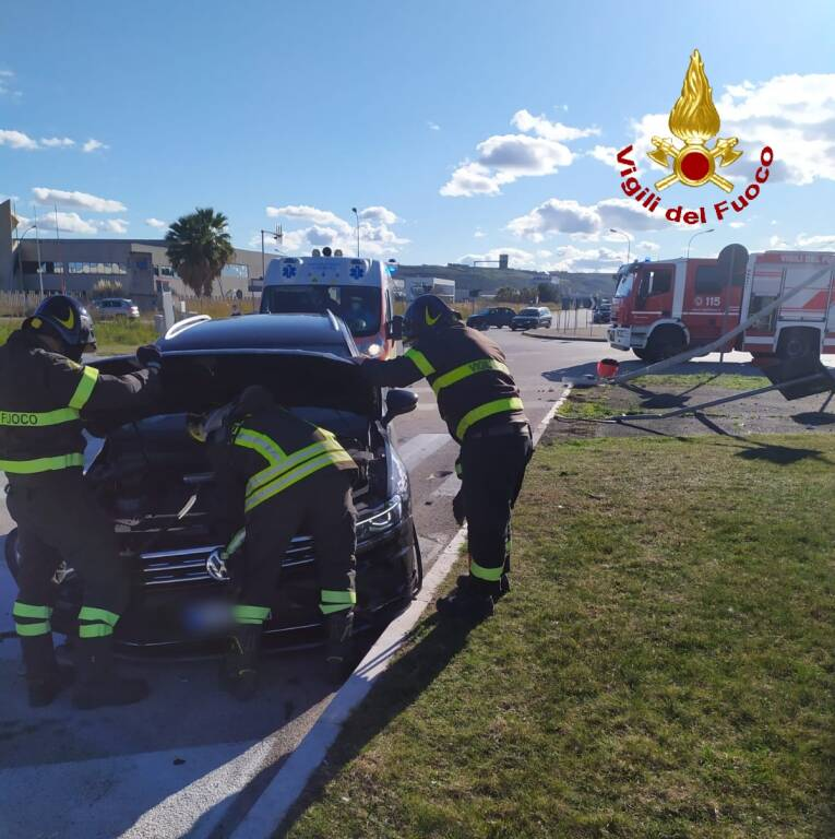 Incidente stradale Fiat