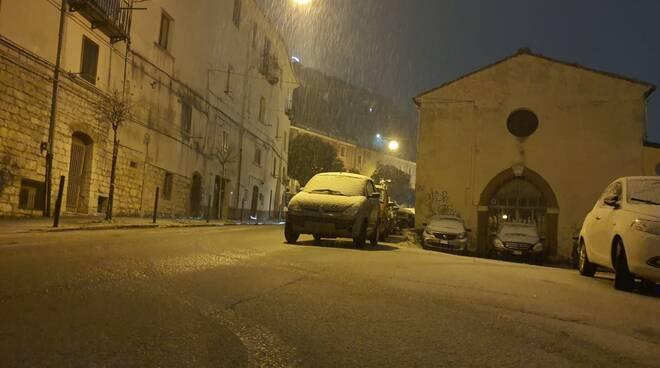 Neve cb 7 gennaio 2021