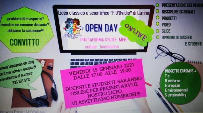 open day liceo d'ovidio