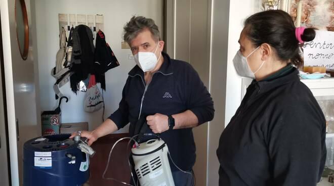 Paolo. Padovani covid ossigeno convalescenza mascherina ffp2