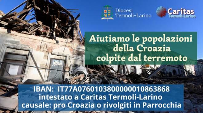raccolta fondi croazia